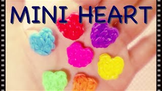getlinkyoutube.com-【レインボールーム】小さなハートの作り方 簡単!【ファンルーム】[Rainbow loom] mini - tiny - Heart Charm (Easy!)