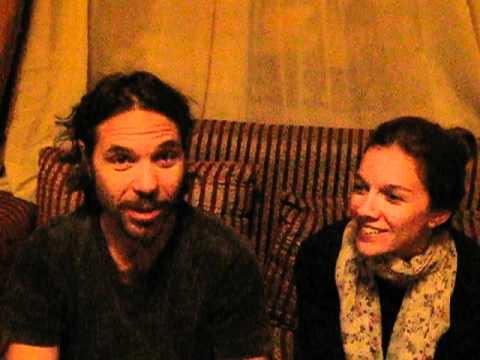 Dino Weber y su esposa