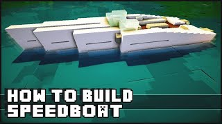getlinkyoutube.com-► Minecraft : How to Make - Speedboat