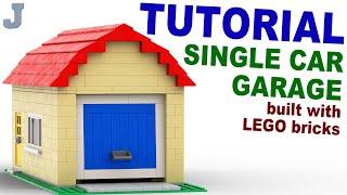 getlinkyoutube.com-Tutorial - Lego Single Car Garage [CC]