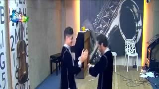 getlinkyoutube.com-علي الفيصل بالزي المغربي ورقص مع ايهاب امير _ستار اكاديمي11