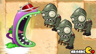 getlinkyoutube.com-Plants Vs Zombies 2: Big Wave Beach Pinata Party 10/23 Chomper