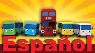 getlinkyoutube.com-Diez autobuses (de Las ruedas del autobús) | Canciones infantiles | LittleBabyBum