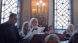 Задостойник праздника Входа Господня во Иерусалим