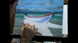 getlinkyoutube.com-Oleo Sobre tela - Daniel Amaral (barco)