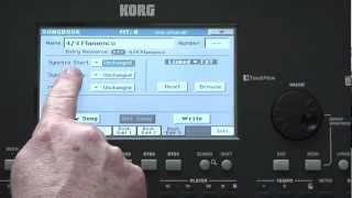 getlinkyoutube.com-Korg Pa600 Video Manual -- Part 5: Songbook