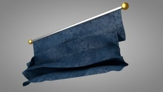 getlinkyoutube.com-Unrolling Cloth Effect - Cinema 4D Tutorial