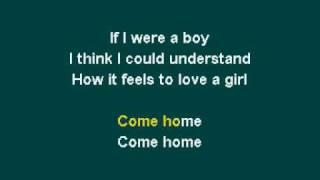 getlinkyoutube.com-Beyonce - If I Were A Boy (Karaoke)