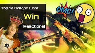 getlinkyoutube.com-Top 10 Dragon Lore  wins reactions !!!!