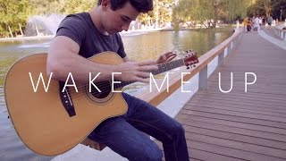 getlinkyoutube.com-Wake Me Up - Avicii - 2014 version (fingerstyle guitar cover by Peter Gergely)