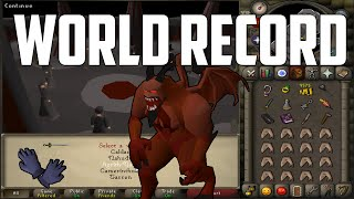 getlinkyoutube.com-[World Record] Recipe For Disaster mithgloves% - 4:58:00 IGT | Oldschool Runescape