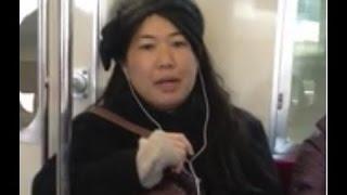 getlinkyoutube.com-【池沼】キチガイババアが電車で発狂【そりゃ殺意持たれるわ】