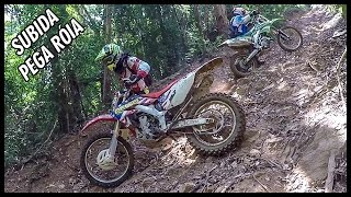getlinkyoutube.com-Trilha Vlog #1 - Conhecendo Uma Trilha Muito Louca - KTM 250 e CRF 250x !