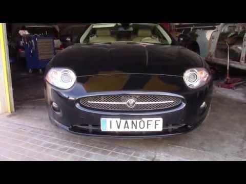 Jaguar XK ремонт обломанной антенны