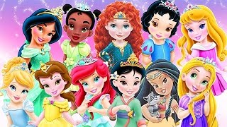 getlinkyoutube.com-Baby Disney Princess Game Cartoons - Disney Princess Baby Video Games