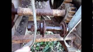 getlinkyoutube.com-Mise en route d'un treuil inutilisé depuis 30 ans gräce à ARMISTOL