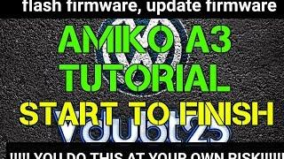 getlinkyoutube.com-[ How-To ] Amiko A3 - start to finish