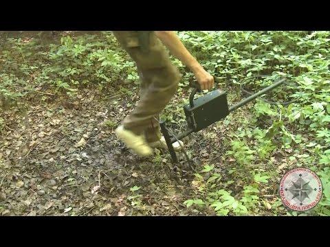 Усадьба Кляйна, поиск монет металлоискателем и тест прибора тм 808