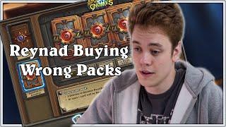 Hearthstone l Reynad Buying Wrong Packs On Stream
