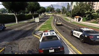 How To Be A Cop In GTA 5
