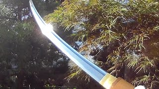 getlinkyoutube.com-Cool Japan #5 Japanese antique Samurai Sword Katana made about 500 years ago