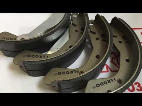 Ferodo FSB335 задние тормозные колодки на Daewoo Lanos 1 4, 1 5, 1 6 Chevrolet Lacetti 1 4, 1 6, 1 8