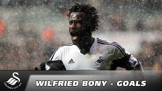 Swans TV - Wilfried Bony - 34 Goals for Swansea