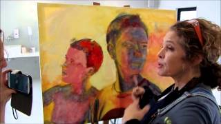 getlinkyoutube.com-How to paint with a Pallette knife by Leonie.e.Brown ARTist for lifeartschool.co.za