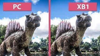 getlinkyoutube.com-Ark: Survival Evolved – PC vs. Xbox One Graphics Comparison