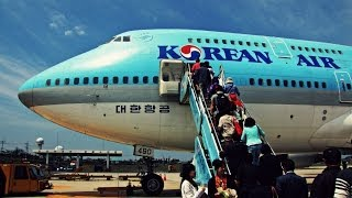 getlinkyoutube.com-Korean Air B747 Flight: KE1218 Jeju to Seoul (Gimpo)