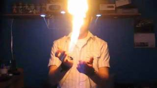 getlinkyoutube.com-Vlad Carrillo's K-TON Hidden Hand Flamethrower