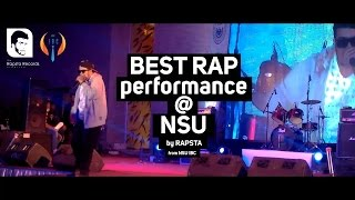 getlinkyoutube.com-Best rap reformance at NORTH SOUTH UNIVERSITY by RAPSTA CFD from NSU IBC