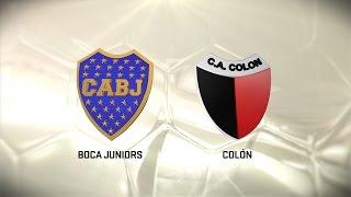 Boca vs. Colón. Fecha 14. Torneo de Primera División 2016/2017. FPT