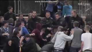 Futsal: VfB Oldenburg fans clash with police 09.01.2014