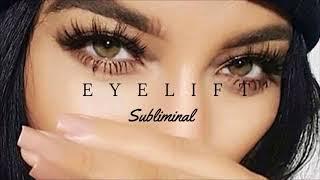 Eyelid Rejuvenation - Eyelift - Subliminal Affirmations