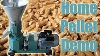 getlinkyoutube.com-LIVE DEMO! - Make Pellets at Home with Pellet Pros