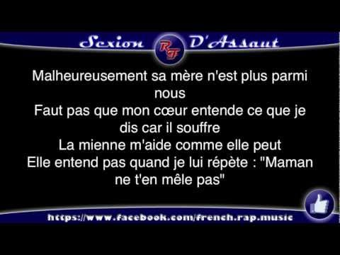 Sexion d'Assaut - Problèmes D'adultes (Paroles) HD 2012 (Lyrics)