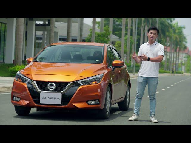 Nissan Almera, dám bức phá !