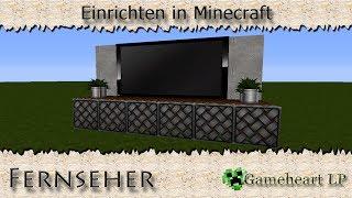 getlinkyoutube.com-MINECRAFT - Fernseher / Einrichten in Minecraft