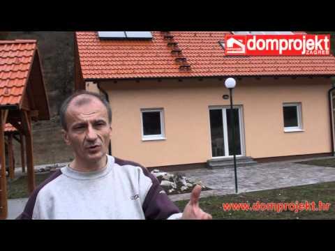 Niskoenergetska samoodrživa Domprojekt kuća - iskustvo vlasnika kuće, gosp. Marić