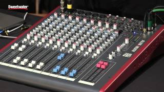 Allen & Heath ZED Series Mixers Review by Sweetwater Sound