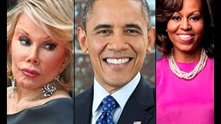 Obama Sacrificed Joan Rivers For Exposing Tranny Michelle Obama!! 2014