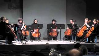 getlinkyoutube.com-Coldplay - PARADISE - Cello Octet Cover