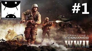 getlinkyoutube.com-FRONTLINE COMMANDO: WW2 Android GamePlay #1 (1080p)