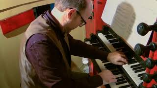 getlinkyoutube.com-Willem van Twillert plays Bach, Air on the G string [BWV1068]  MEERE-organ Epe