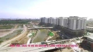 [Tháng 01/2016] Tiến độ dự án Khu đô thị Sala