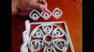 getlinkyoutube.com-Como Hacer Canastas de Periodico