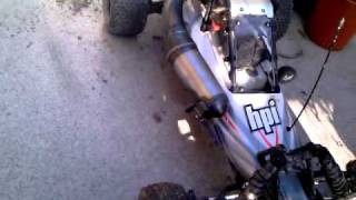 getlinkyoutube.com-hpi Baja 5B - VRC Side Exhaust Soundcheck