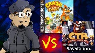 getlinkyoutube.com-Johnny vs. Crash Team Racing & Crash Bash