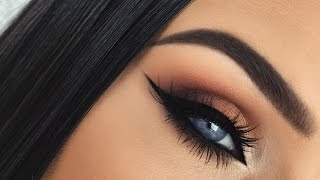 getlinkyoutube.com-Autumn Leaves | Burnt Orange Smokey Fall Eye Makeup Tutorial